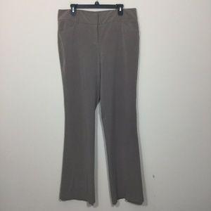 7th Avenue New York & Company 14 Tall Brown Pants